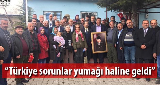 Gürer: Türkiye sorunlar yumağı haline geldi