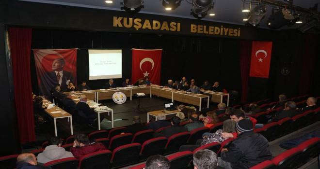 KUŞADASI BELEDİYE MECLİSİ 2019 YILININ İLK TOPLANTISINI...