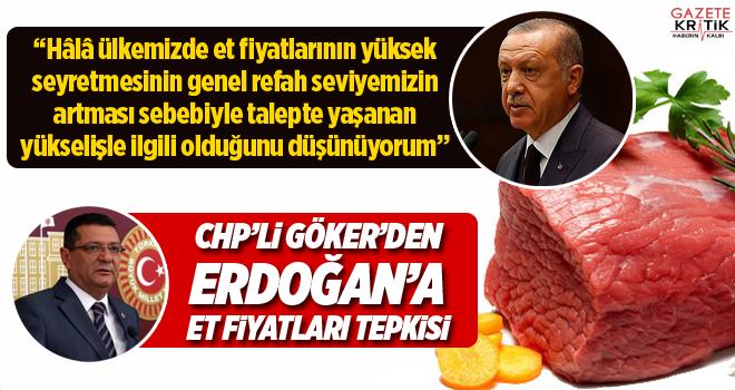 CHP'li Mehmet Göker'den Erdoğan Et Fiyatları Tepkisi!