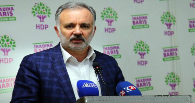 HDP'li Ayhan Bilgen: Bu mesele sadece Meclis Başkanı'nın...