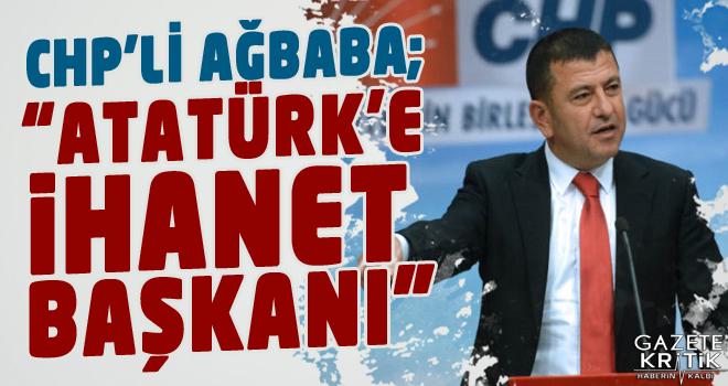 CHP'Lİ VELİ AĞBABA:DİYANET İŞLERİ BAŞKANI...
