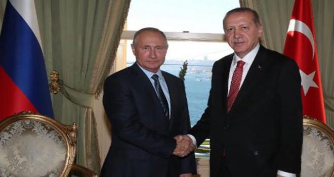 TürkAkım'ının deniz bölümü Erdoğan ve Putin'in...