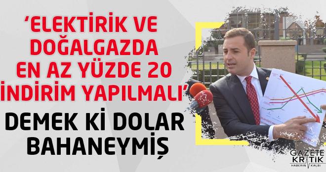 CHP'Lİ AHMET AKIN:DOĞALGAZDA İNDİRİMİ VATANDAŞ...