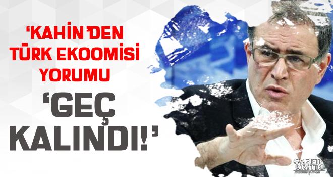'Kâhin'den Türk ekonomisi yorumu