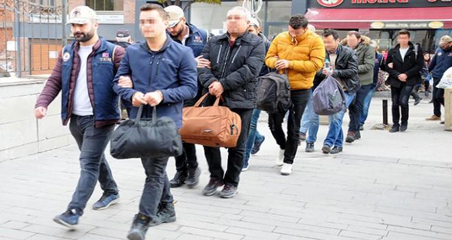 Eskişehir'de FETÖ şüphelisi 7 asker adliyede