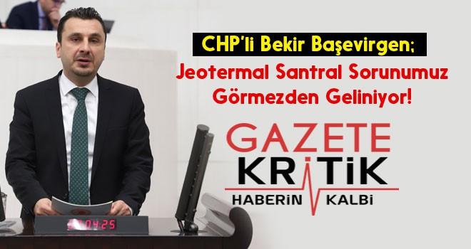 CHP'li Başevirgen:Bu İhaleden Vazgeçin!