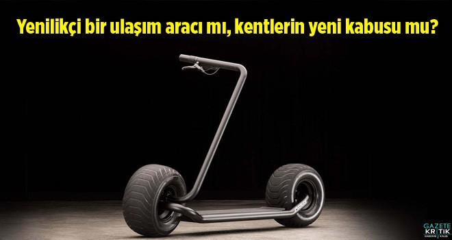 Elektrikli scooterlar: Yenilikçi bir ulaşım aracı...