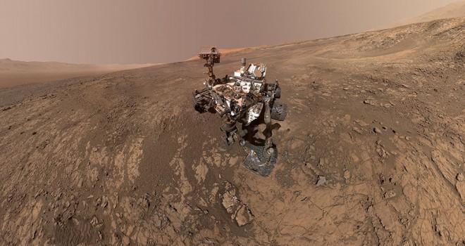 NASA'nın yeni keşif aracı Mars'a iniyor