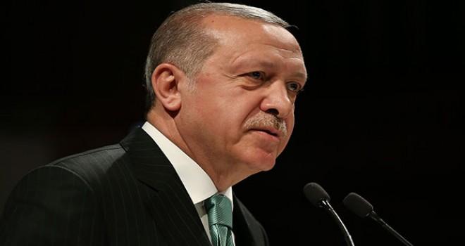 Erdoğan'dan açılışta çok sert af çıkışı