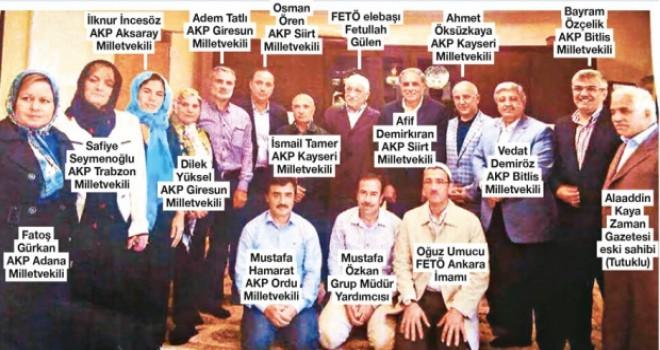 Gülen'i ziyaret edip fotoğraf çektiren 12 milletvekilinden...