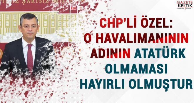 CHP'Lİ ÖZEL: YOLSUZLUKLAR VE İŞÇİ KANI ÜZERİNE...