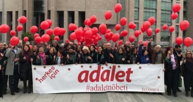 Adalet Nöbeti son kez tutuldu: Demokrasi mücadelesi...