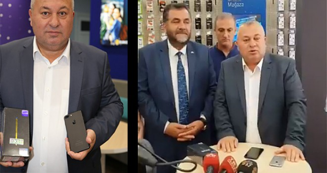 MHP Milletvekili iPhone'unu sattı, Samsung aldı;MHP İl Başkanı, iPhone'ununu kırdı