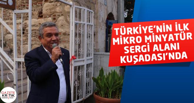 TÜRKİYE'NİN İLK MİKRO MİNYATÜR SERGİ ALANI...