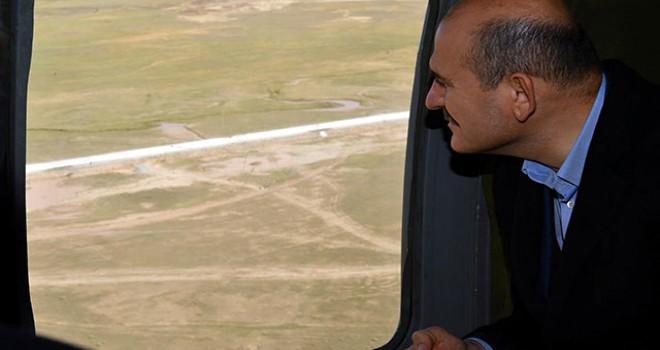 İçişleri Bakan Soylu, Türkiye-İran sınırındaki...