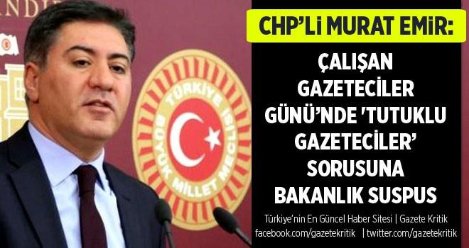 ÇALIŞAN GAZETECİLER GÜNÜ'NDE 'TUTUKLU GAZETECİLER'...