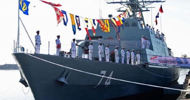 İran: Batı Asya'nın en gelişmiş savaş gemisini...