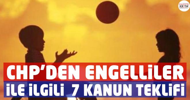 CHP'li Emir'den, Engelliler ile İlgili 7 Kanun Teklifi