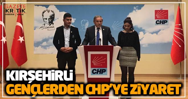 KIRŞEHİRLİ GENÇLER CHP GENEL BAŞKAN YARDIMCISI...