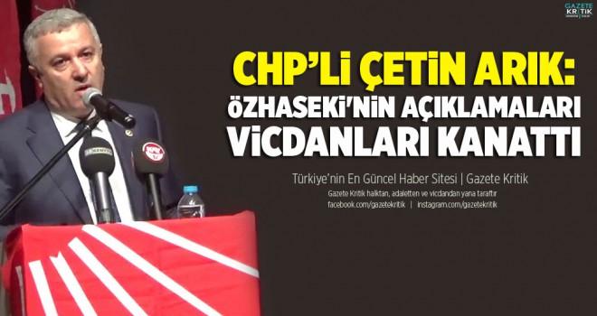 CHP'Lİ ARIK HACILARDAKİ SALDIRIYI TBMM GÜNDEMİNE...