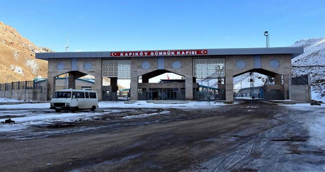 İran sınırındaki Kapıköy Gümrük Kapısı hizmete...