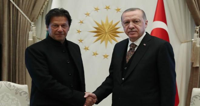 Pakistan Başbakanı İmran Khan Beştepe'de