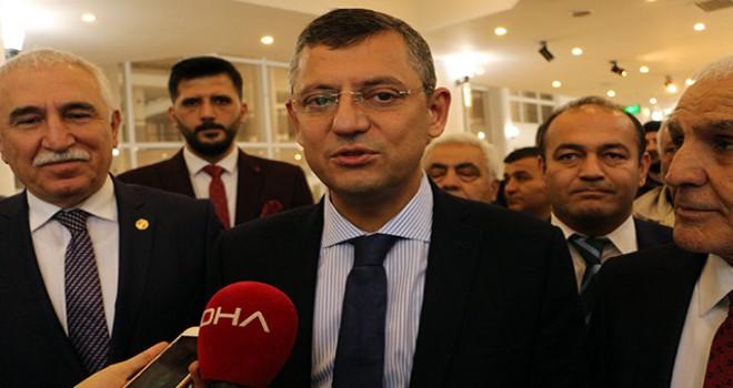 CHP Grup Başkan Vekili Özel: Cumhur İttifakı dışında...