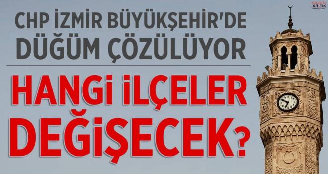 CHP İZMİR'DE 8 İSİMLİ KRİTİK ANKET