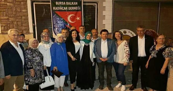 BALKADER BURSA 3'NCÜ 'GÖNÜL SOFRASI'NI GERÇEKLEŞTİRDİ