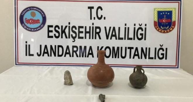 Eskişehir'de tarihi eser kaçakçılığı operasyonu