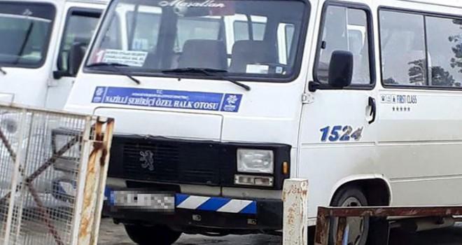 Gazi oğlunu, minibüsten indiren şoför: 'Ananı...
