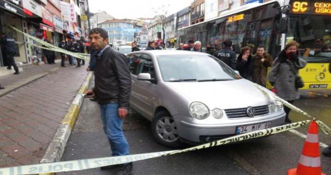 Üsküdar'da silahlı saldırı: 1 yaralı