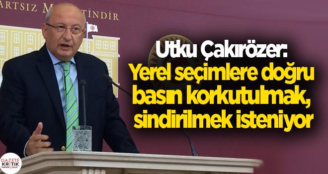 CHP Türkiye'nin 2018 Basın Özgürlüğü karnesini...