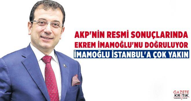 AKP'NİN ELİNDEKİ RESMİ SONUÇLARDA İMAMOĞLU'NU DOĞRULADI