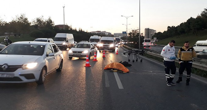 Avcılar'da feci kaza