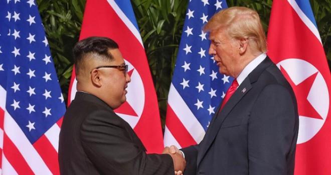 Kuzey Kore'den Trump'a 'görüşme' mesajı
