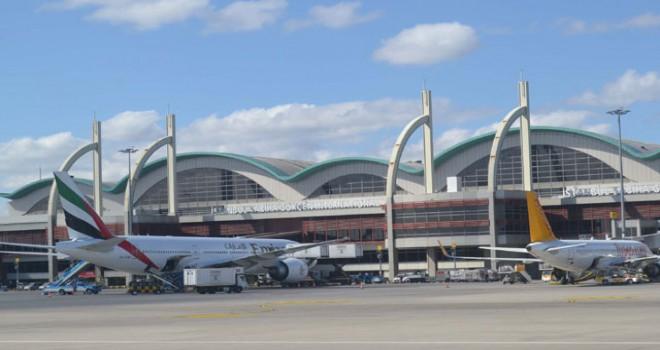 Sabiha Gökçen Havalimanı'nda yıllık uçuş rekoru...