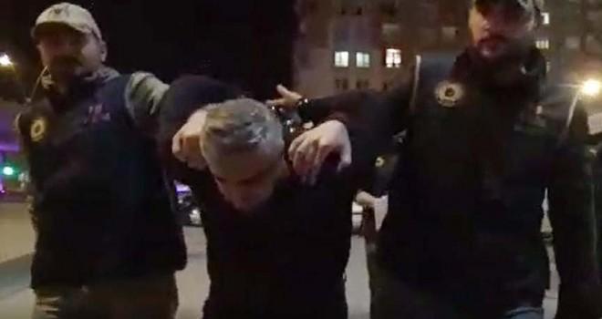 FETÖ şüphelisi polisi aracıyla sürükledi Yunan...