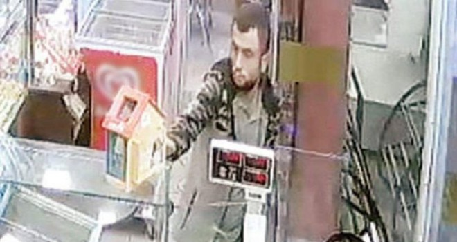 LÖSEV'in kumbaralarına göz diken hırsız tutuklandı