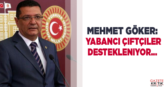 CHP Burdur Milletvekili Dr. Mehmet GÖKER desteklemeleri...