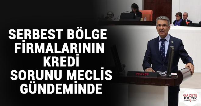SERBEST BÖLGE FİRMALARININ KREDİ SORUNU MECLİS...