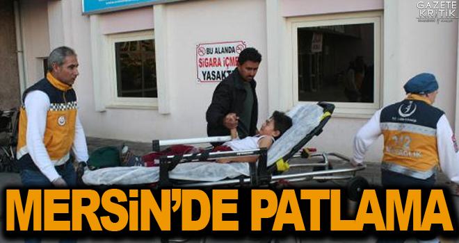 Çocukların bulduğu cisim patladı: 5 yaralı