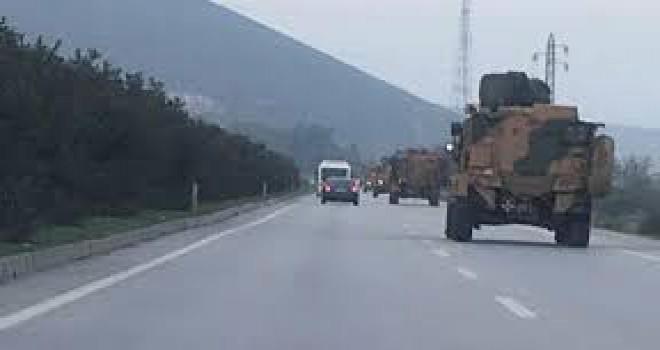 Hatay'a gönderilen askeri birlikler, Kilis yolunda