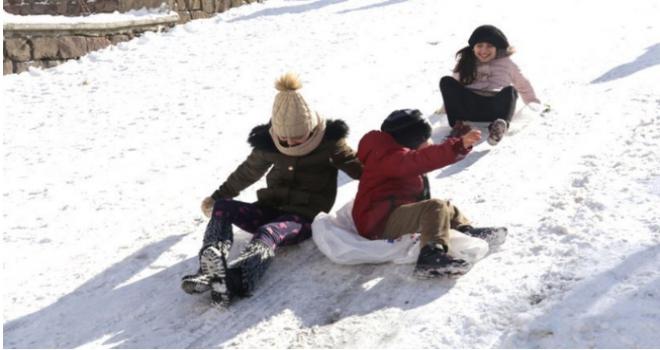 Ankara'da okullar tatil mi? Yarın okullara kar tatili...