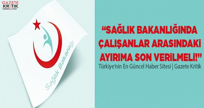 CHP'li Gürer: Sağlık Bakanlığında çalışanlar...