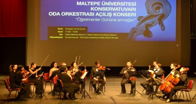 Maltepe Üniversitesi Oda Orkestrası'ndan ilk konser