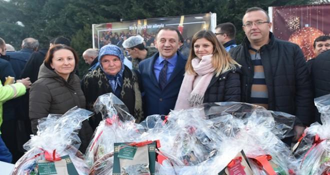 Silivri Belediyesi'nde yeni yıl kutlandı