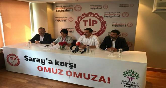 53 yıl sonra Meclis'e dönen Türkiye İşçi Partisi'nden ilk açıklama