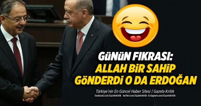 Özhaseki: Allah bir sahip gönderdi o da Erdoğan