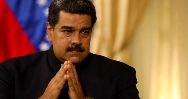 Venezuela Devlet Başkanı Maduro: Krizin sorumlusu...